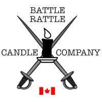 Battle Rattle Candle Company Logo