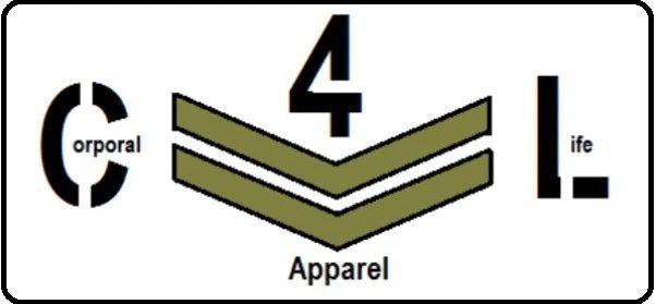 Corporal4Life Apparel Logo